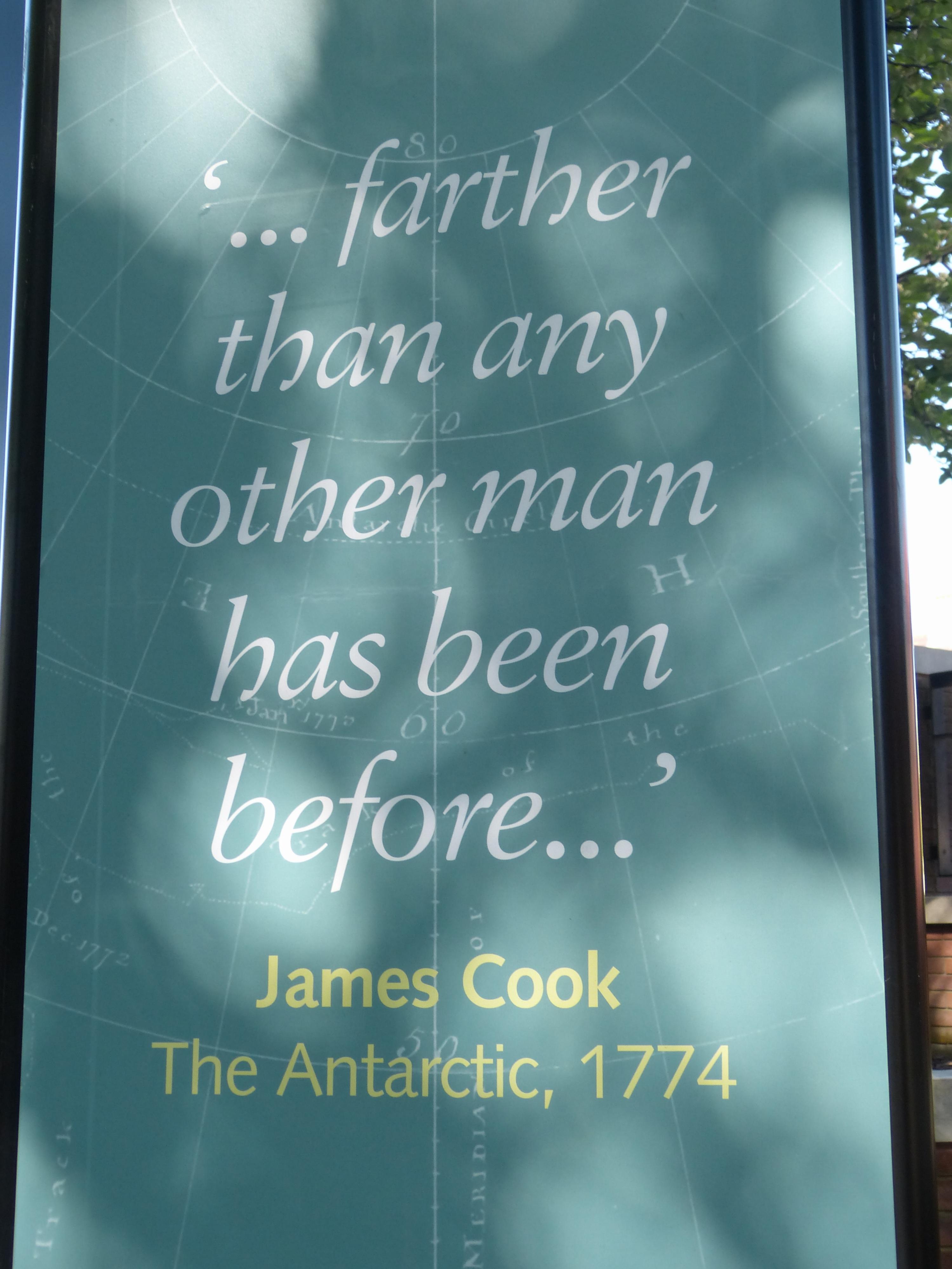 James Cook Ausstellung