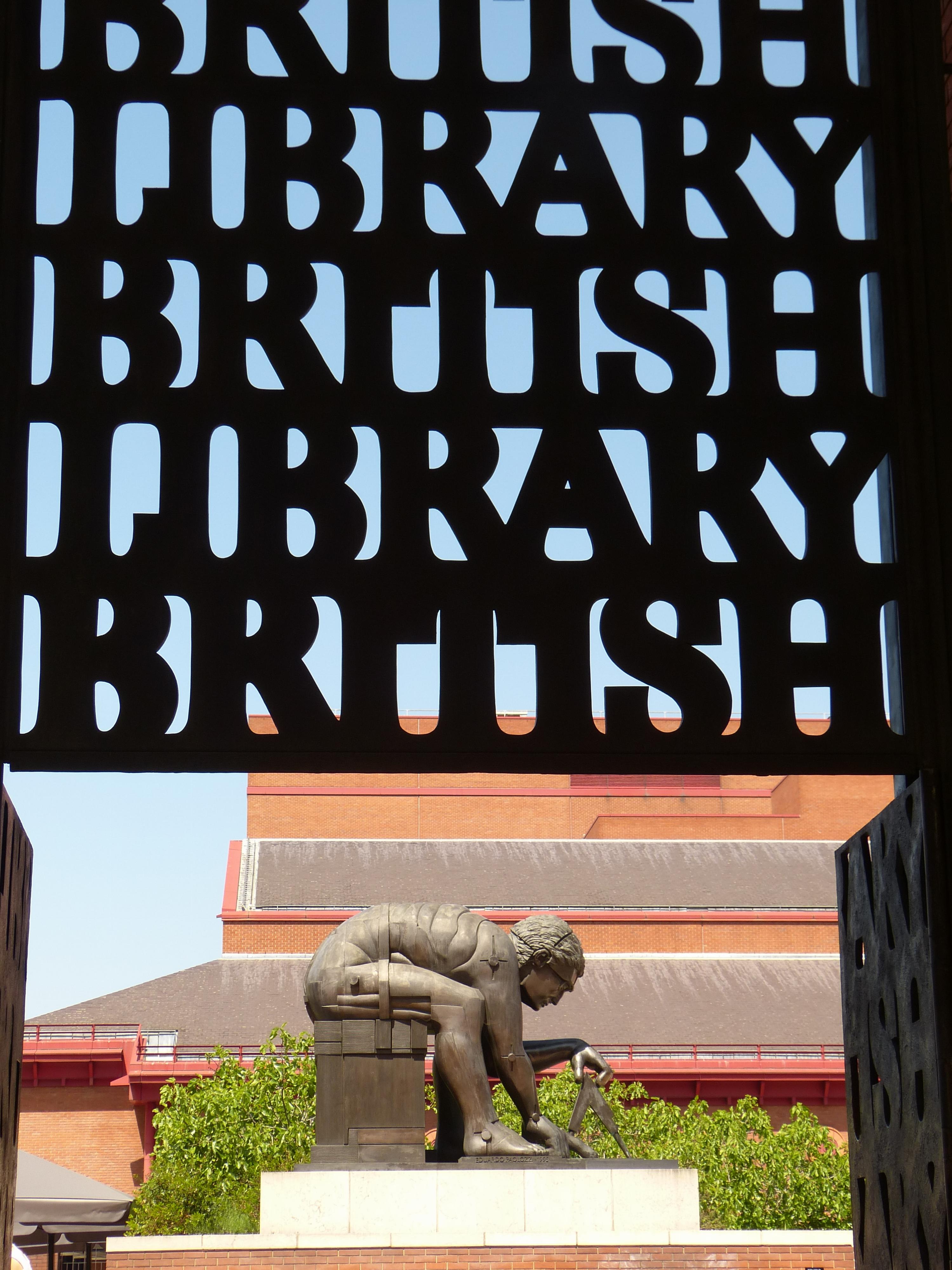 Der Eingang zur Londoner Bibliothek